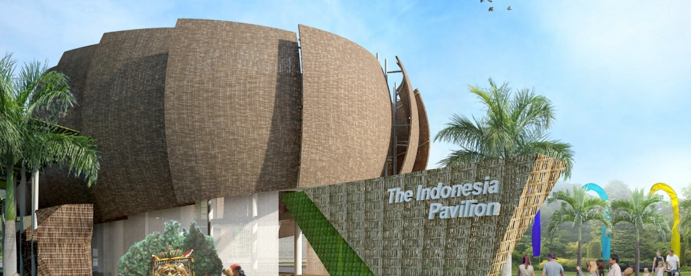 """Indonesia Pavilion """"The Stage of the World"""" di World Expo 2015"""